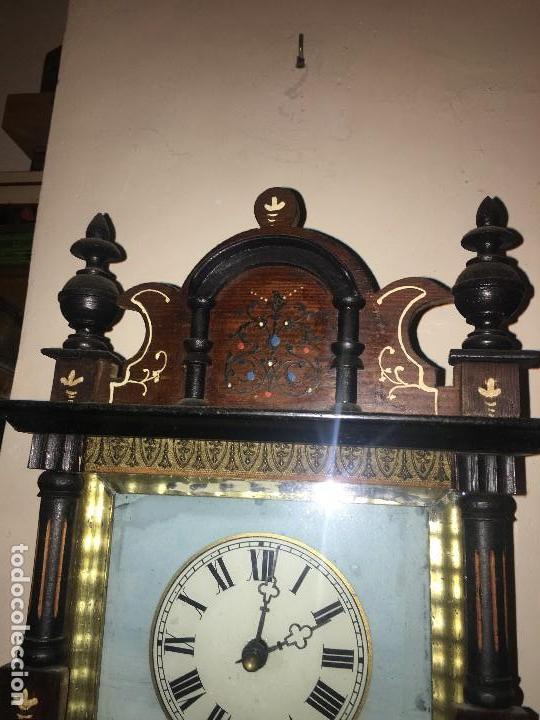Relojes de pared: BONITO RELOJ PARED SELVA NEGRA ORIGINAL FUNCIONA - Foto 3 - 118413643
