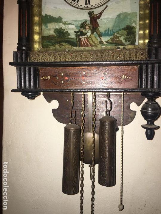 Relojes de pared: BONITO RELOJ PARED SELVA NEGRA ORIGINAL FUNCIONA - Foto 4 - 118413643