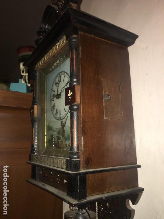 Relojes de pared: BONITO RELOJ PARED SELVA NEGRA ORIGINAL FUNCIONA - Foto 6 - 118413643