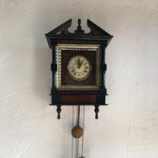 Relojes de pared: RELOJ ANTIGUO. Lote 118524739