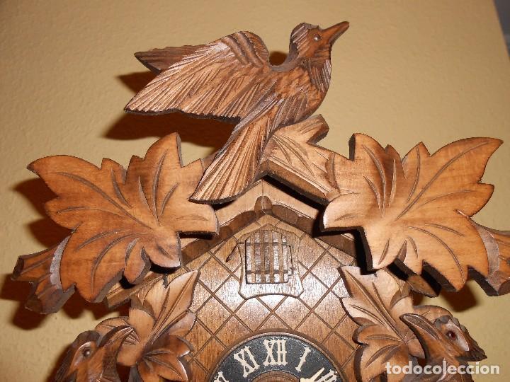 Relojes de pared: RELOJ CUCU-CUCO 7-8 DÍAS DE CUERDA ,MADE IN GERMANY( ALEMANIA,SELVA NEGRA).MECÁNICO. - Foto 5 - 119558207