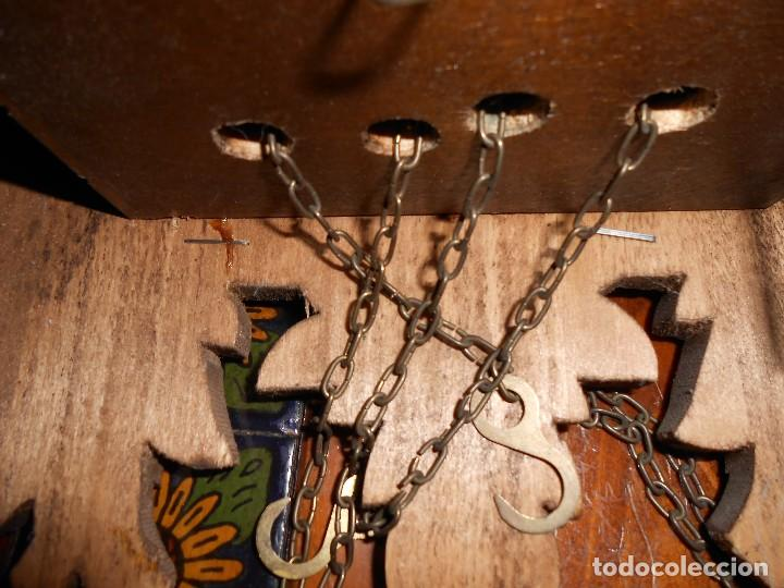 Relojes de pared: RELOJ CUCU-CUCO 7-8 DÍAS DE CUERDA ,MADE IN GERMANY( ALEMANIA,SELVA NEGRA).MECÁNICO. - Foto 17 - 119558207