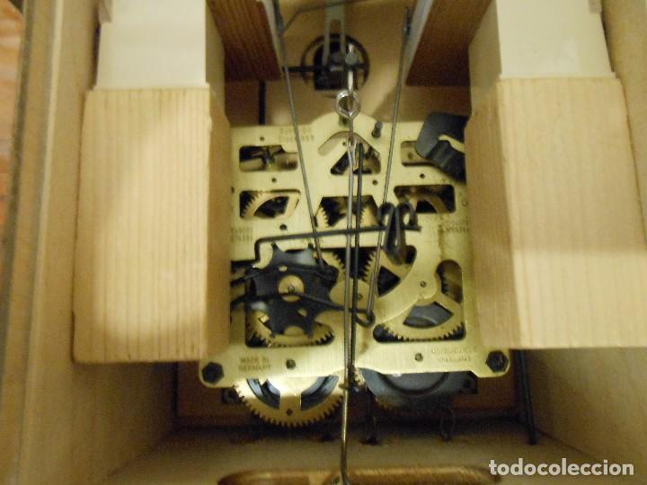 Relojes de pared: RELOJ CUCU-CUCO 7-8 DÍAS DE CUERDA ,MADE IN GERMANY( ALEMANIA,SELVA NEGRA).MECÁNICO. - Foto 19 - 119558207