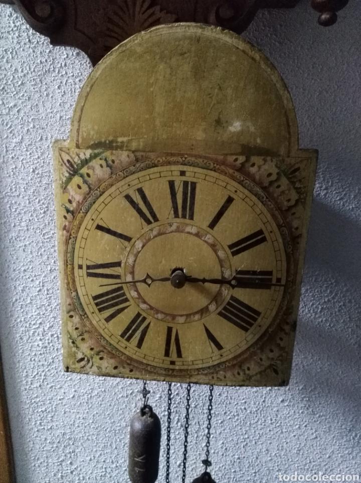 RELOJ DE RATERA FUNCIONANDO Y COMPLETO (Relojes - Pared Carga Manual)