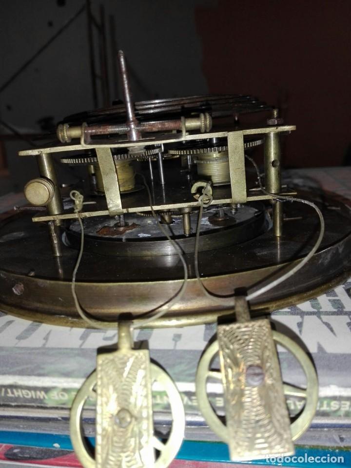 Relojes de pared: reloj de pared carga manual antiguo regulador de Viena - Foto 3 - 101460583