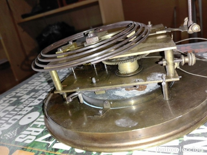 Relojes de pared: reloj de pared carga manual antiguo regulador de Viena - Foto 5 - 101460583