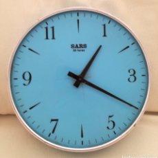 Relojes de pared: ANTIGUO RELOJ A CUERDA SARS.. Lote 121049324