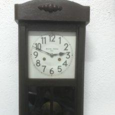 Relojes de pared: RELOJ ANTIGUO DE PARED. Lote 121061667