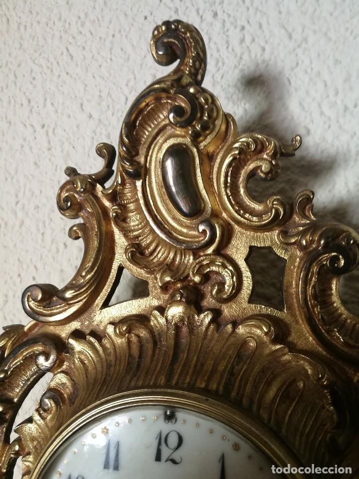 Relojes de pared: Reloj siglo XIX - Foto 3 - 121124915