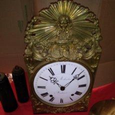 Relojes de pared: ESPECTACULAR IMPECABLE RELOJ MORET SIGLO XIX. Lote 121603288
