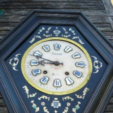 Relojes de pared: EXCEPCIONAL RELOJ OJO DE BUEY VER FOTOS. Lote 121666887