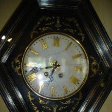 Relojes de pared: BONITO RELOJ OJO DE BUEY MAQUINA PARIS VER FOTOS. Lote 121712519