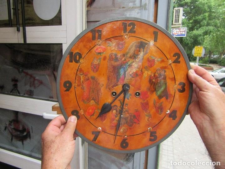 Relojes de pared: RELOJ SIGLO XIX - Foto 10 - 27018191
