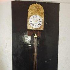 Relojes de pared: RELOJ MOREZ ANTIGUO DE CAMPANA BUEN ESTADO FUNCIONA PARA COLECION . Lote 122093839