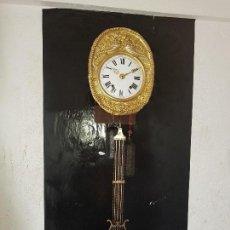 Relojes de pared: RELOJ MOREZ ANTIGUO DE CAMPANA BUEN ESTADO FUNCIONA PARA COLECION . Lote 122098787