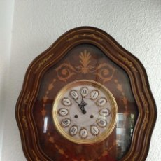 Relojes de pared: RELOJ ESTILO ISABELINO CON SONERIA. Lote 122319119
