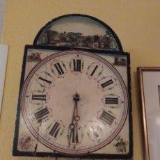 Relojes de pared: RELOJ SELVA NEGRA, CON PAISAJE AL OLEO , DEL SIGLO XIX,MAQUINARIA PARÍS,35X25CTMS,. Lote 122673811