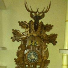 Relojes de pared: RELOJ DE CUCO MADERA, PERFECTO FUNCIONAMIENTO, ENVÍO GRATIS, CUENDET, SWISS MOVEMENT. Lote 123156407