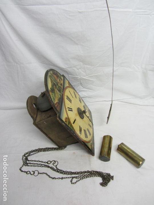 Relojes de pared: Reloj de ratera o selva negra - Foto 2 - 123586107