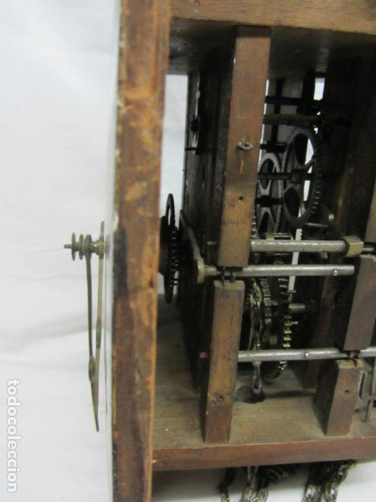Relojes de pared: Reloj de ratera o selva negra - Foto 5 - 123586107
