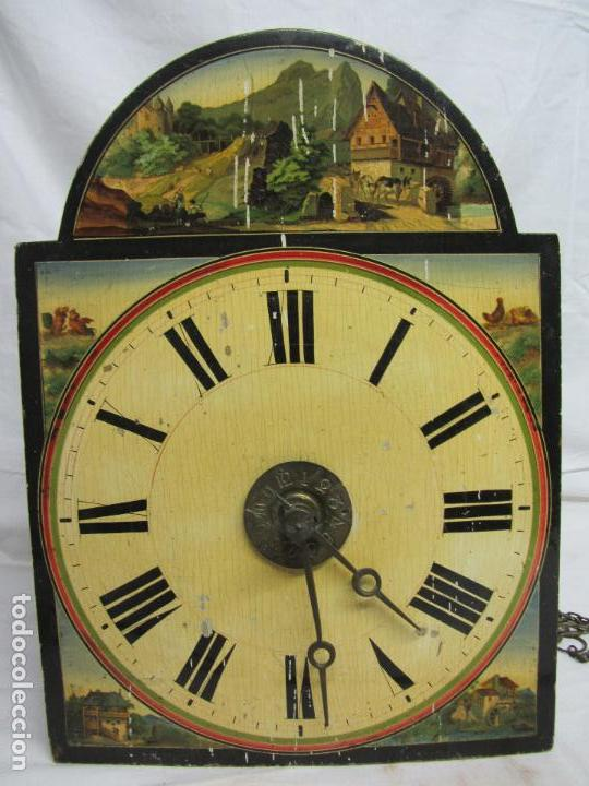 Relojes de pared: Reloj de ratera o selva negra - Foto 7 - 123586107