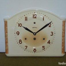 Relojes de pared: ANTIGUO Y RARO RELOJ DE COCINA ¨INGERSOL¨, ALEMANIA, AÑOS 40, PÉNDULO.. Lote 124425975