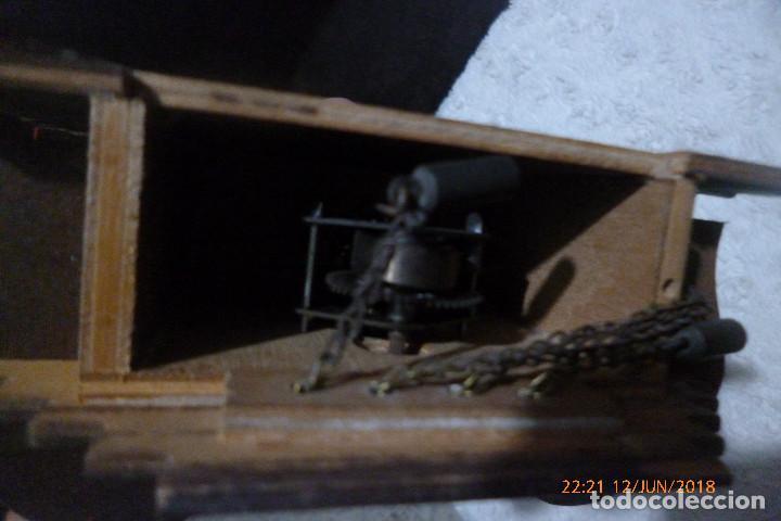 Relojes de pared: reloj cuco suizo con llave - Foto 5 - 124574067
