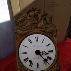 Relojes de pared: ANTIGUO MOREZ DE CAMPANA SIGLO XIX. Lote 125234148