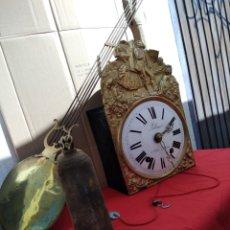 Relojes de pared: ANTIGUO RELOJE MOREZ DE CAMPANA SIGLO XIX. Lote 125234290