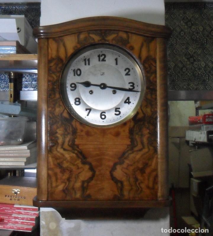 Relojes de pared: Reloj de Pared mecánico con sonería - Foto 2 - 125235779