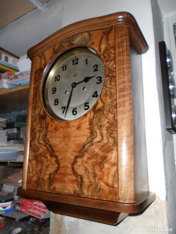 Relojes de pared: Reloj de Pared mecánico con sonería - Foto 3 - 125235779