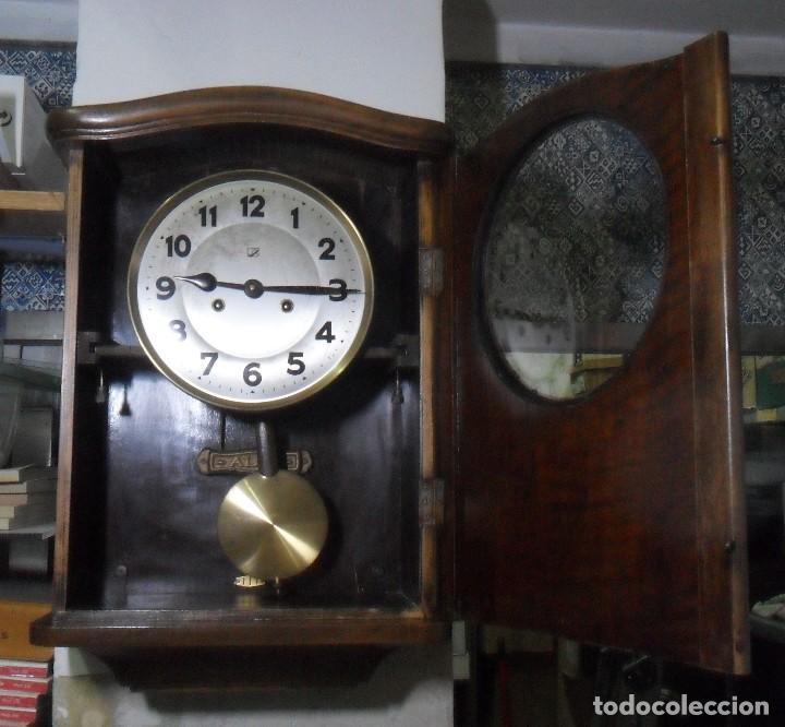 Relojes de pared: Reloj de Pared mecánico con sonería - Foto 4 - 125235779