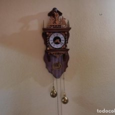 Relojes de pared: RELOJ DE PARED VINTAGE. Lote 125331055