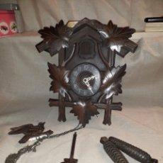 Relojes de pared: RELOJ DE CUCU-CUCO, SELVA NEGRA , PARA RESTAURAR O DESPIECE. Lote 126332084