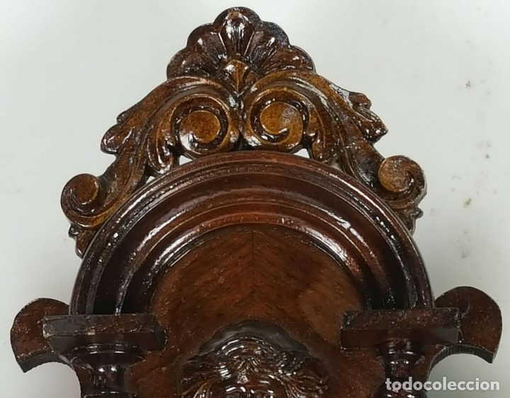Relojes de pared: RELOJ DE PARED. CARL WERNER. ESTILO ALFONSINO. ALEMANIA. SIGLO XIX. - Foto 2 - 126340507