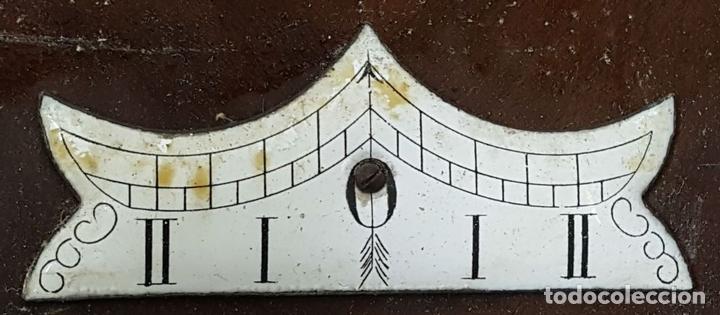 Relojes de pared: RELOJ DE PARED. CARL WERNER. ESTILO ALFONSINO. ALEMANIA. SIGLO XIX. - Foto 8 - 126340507
