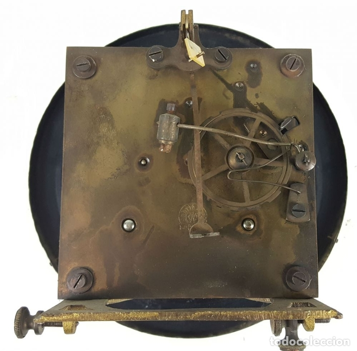 Relojes de pared: RELOJ DE PARED. CARL WERNER. ESTILO ALFONSINO. ALEMANIA. SIGLO XIX. - Foto 13 - 126340507