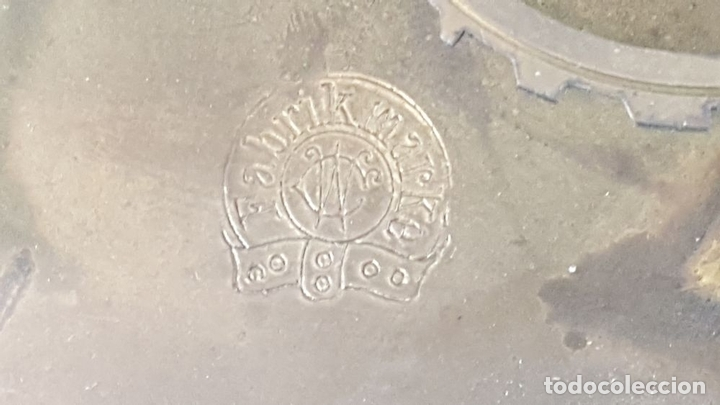 Relojes de pared: RELOJ DE PARED. CARL WERNER. ESTILO ALFONSINO. ALEMANIA. SIGLO XIX. - Foto 16 - 126340507