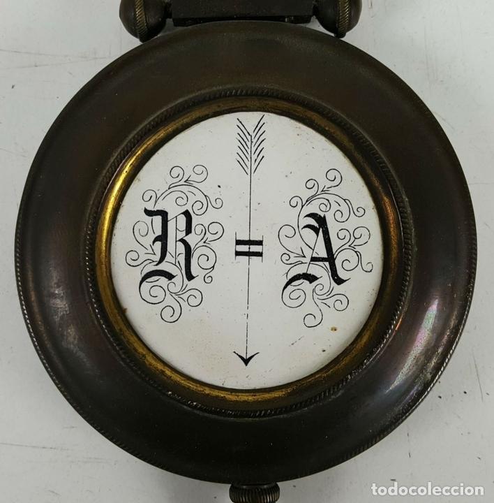 Relojes de pared: RELOJ DE PARED. CARL WERNER. ESTILO ALFONSINO. ALEMANIA. SIGLO XIX. - Foto 21 - 126340507