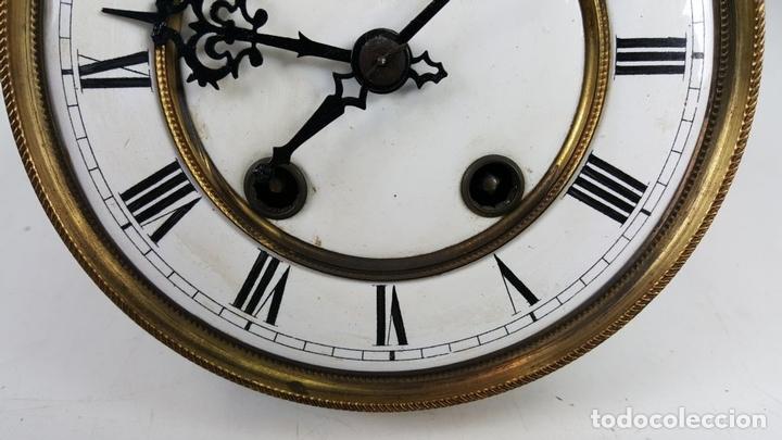 Relojes de pared: RELOJ DE PARED. CARL WERNER. ESTILO ALFONSINO. ALEMANIA. SIGLO XIX. - Foto 22 - 126340507