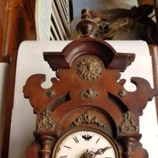 Relojes de pared: ANTIGUO RELOJ PARA RESTAURAR. Lote 127292899