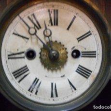 Relojes de pared: RELOJ ALFONSINO DE PARED DESPERTADOR, FINALES 1800 RARO Y DIFICIL. Lote 128139907
