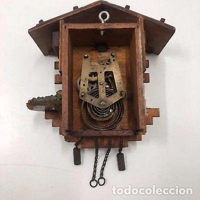 Relojes de pared: ANTIGUO RELOJ DE CUCO PARA RESTAURAR SUIZO A CUERDA. - Foto 4 - 128409371