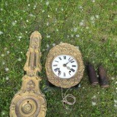 Relojes de pared: RELOJ MOREZ ISABELINO SIGLO.XIX.. Lote 128588299