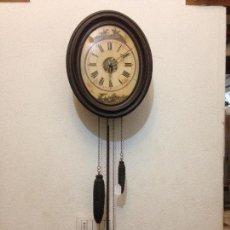 Relojes de pared: RELOJ DE PARED ISABELINO - 1860. Lote 108018063