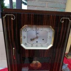 Relojes de pared: IMPRESIONANTE RELOJ DE PARED FRANCÉS 8 MARTILLOS MUY DETALLADO IMPECABLE. Lote 130684910