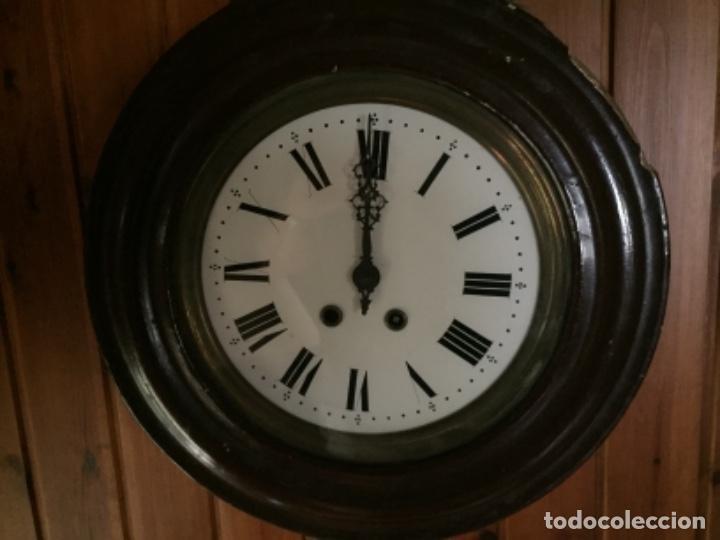 RELOJ ANTIGUO , 45 CMS DIÁMETRO (Relojes - Pared Carga Manual)