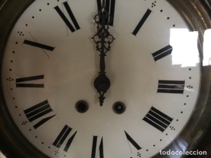 Relojes de pared: Reloj antiguo , 45 cms diámetro - Foto 4 - 130412778