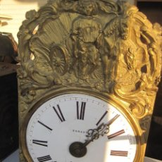 Relojes de pared: RELOJ DE PARED FRANCES (MOREZ) 1860. Lote 130441330