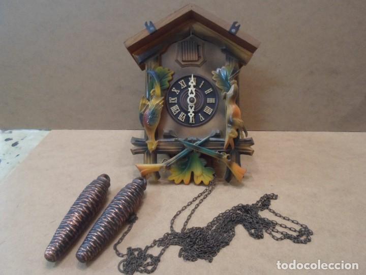 RELOJ DE CUCO DE MADERA (Relojes - Pared Carga Manual)